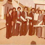Un ancien groupe d'étudiants IGL INH